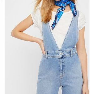 🎉 HP 🎉 Free people A-Line overalls